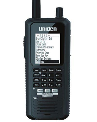 Uniden Bearcat UBCD3600XLT Scanner Analoog en Digitaal - INCLUSIEF ...