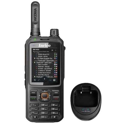 Inrico T320 4G LTE Zello Portofoon, GPS, Smartphone, GSM, Wifi met tafellader