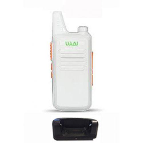 WLN KD-C1 Wit Dunne UHF mini Portofoon 5Watt