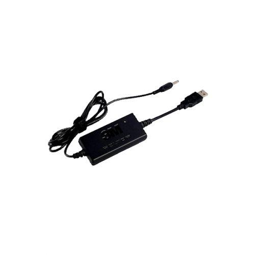3M Peltor FR09 batterijlader met USB aansluiting voor ACK053
