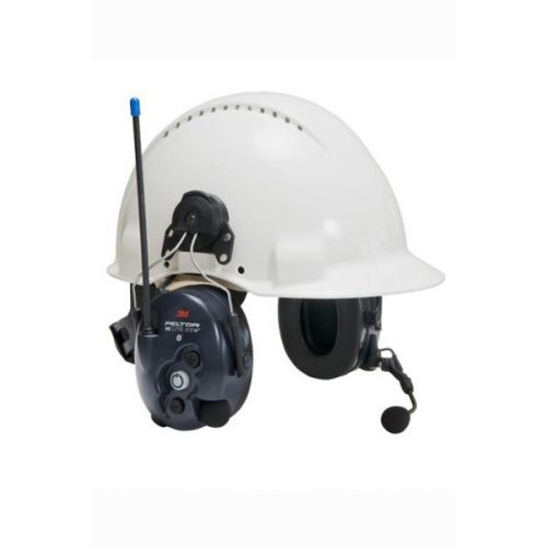 3M Peltor LiteCom PMR446 helmbevestiging headset met geïntegreerde portofoon