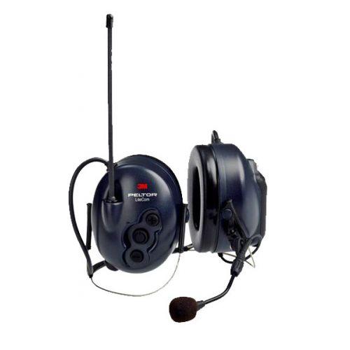 3M Peltor LiteCom PMR446 nekband headset met geïntegreerde portofoon