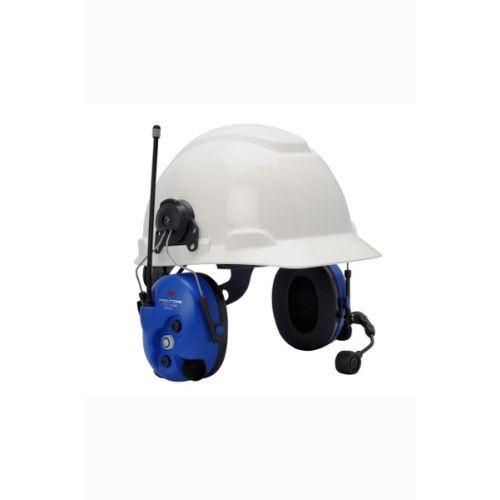 3M Peltor WS LiteCom Pro III ATEX Digitale helmbevestiging headset geïntegreerde portofoon