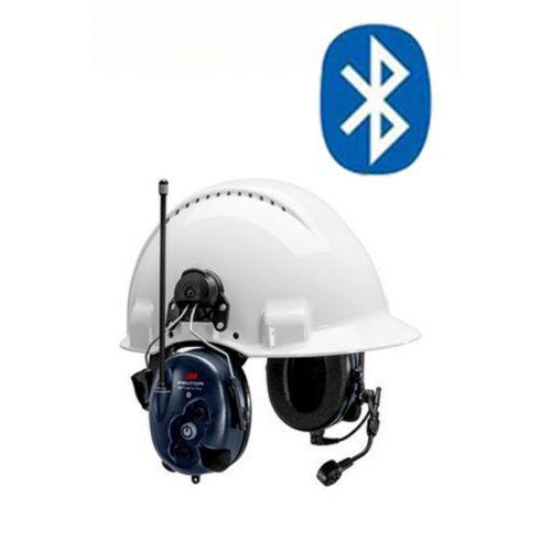 3M Peltor WS LiteCom Plus LPD433 helmbevestiging headset met geïntegreerde portofoon