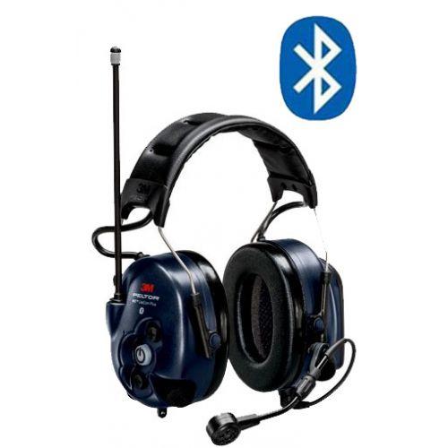 3M Peltor WS LiteCom Plus PMR446 hoofdband headset met geïntegreerde portofoon