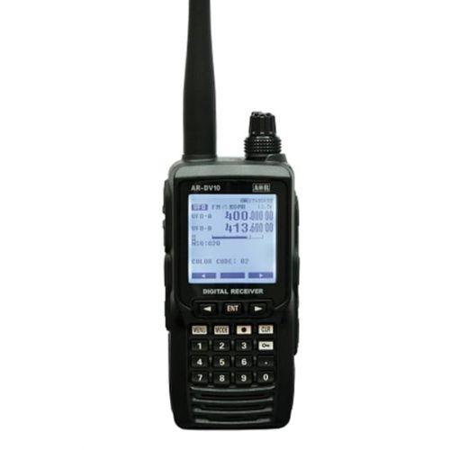 AOR AR-DV10 Professionele wide band scanner ontvanger 0,1 - 1300Mhz Analoog en Digitaal