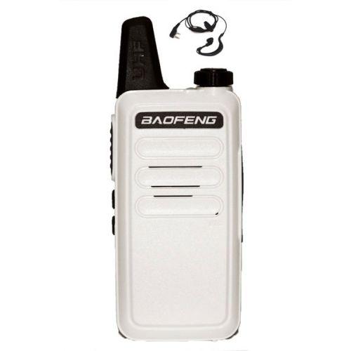 Baofeng BF-R5 dunne uhf mini portofoon 5 watt Wit