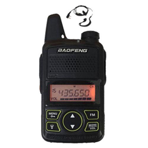 Baofeng BF-T1 UHF dunne mini Portofoon 2watt