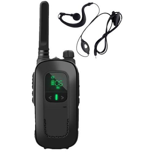 Baofeng BF-T12 mini portofoon Zwart met accu
