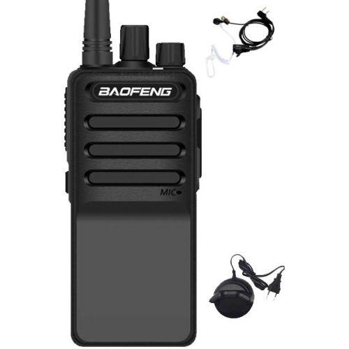 Baofeng C2 UHF 5Watt portofoon met beveiliging oortje