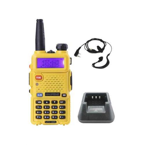 Baofeng UV-5R Geel Dualband 5Watt