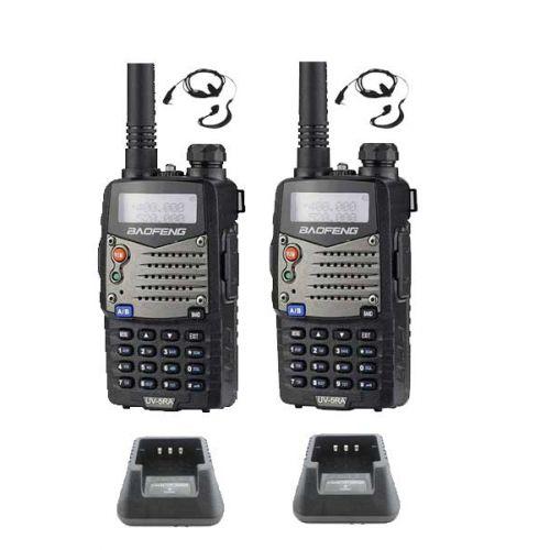 Baofeng UV-5RA Dualband 5Watt set