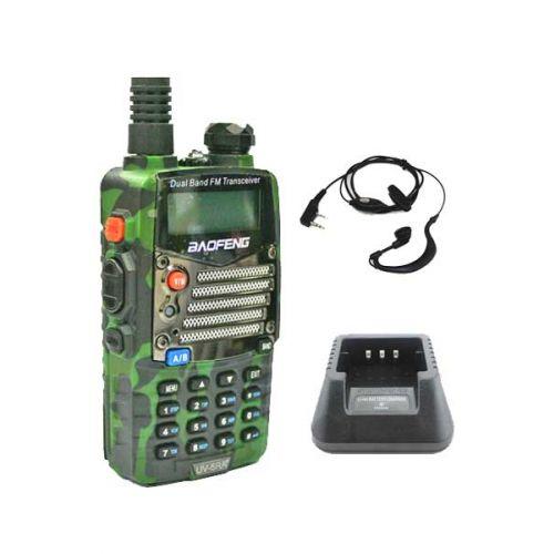 Baofeng UV-5RA Plus Camouflage Dualband 5Watt Portofoon