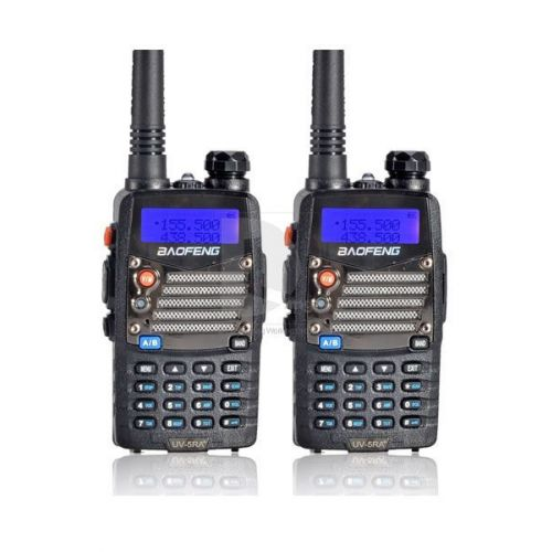 Baofeng UV-5RA Plus Dualband 5Watt set