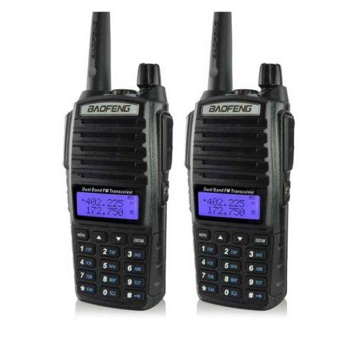 Baofeng UV-82 Dualband 5Watt set