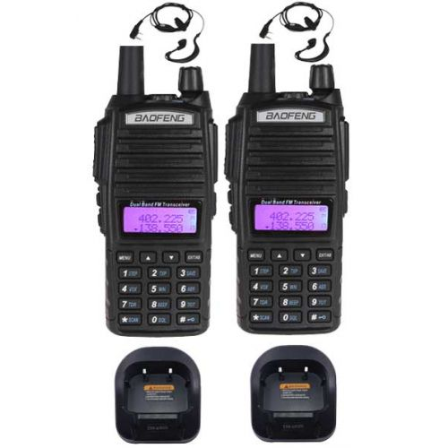 Baofeng UV-82 Dualband 5Watt set