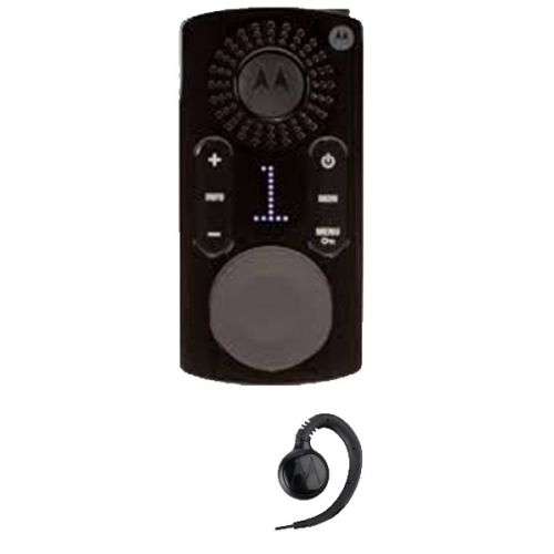 Motorola CLK446 Mini Portofoon met display en headset