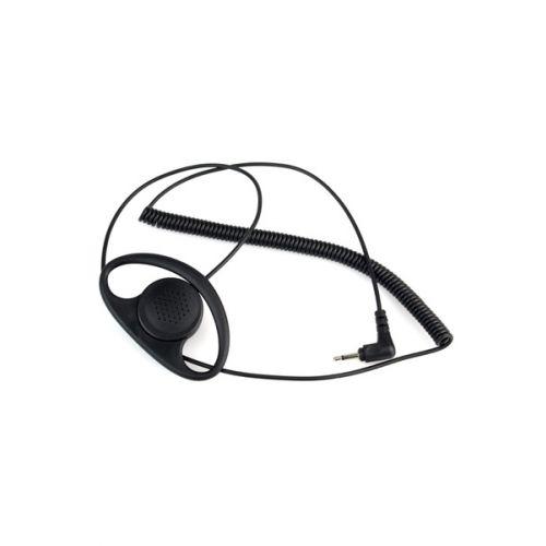 D-Shape oortje alleen luisteren 3,5mm plug