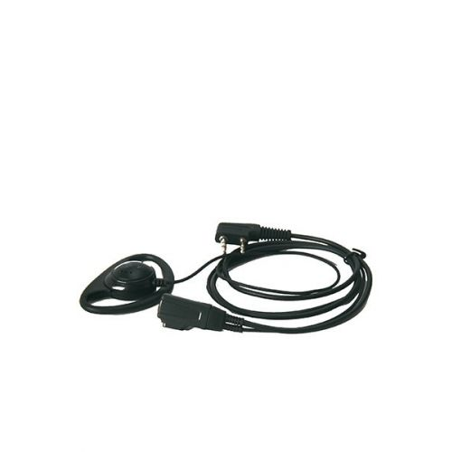 D-Shape Portofoon Headset Baofeng / Kenwood 2-Pins K-Type