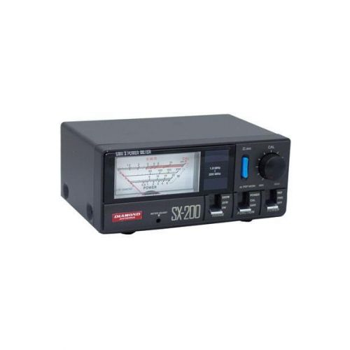 Diamond SX-200 PL SWR / Power meter 1.6 - 200 Mhz