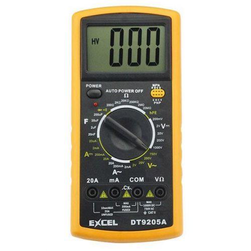 Excel DT-9205A Digitale Multimeter