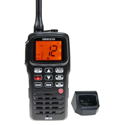 Himunication HM130 Hand Marifoon Zwart IP67,  ATIS en Kanaal 31