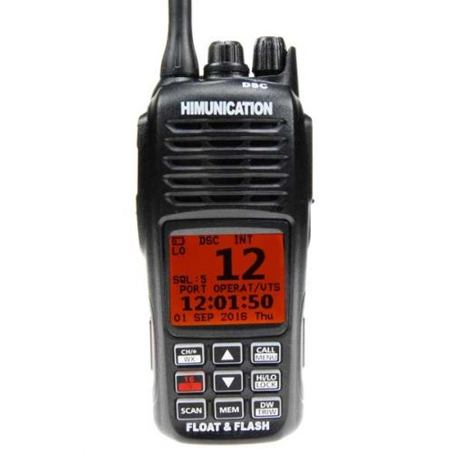 Himunication HM360 Hand Marifoon IP67 met ATIS, DSC & GPS