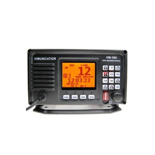 Himunication HM380 Marifoon IP67 met ATIS, DSC & GPS