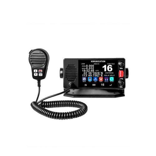 Himunication TS18 Marifoon 25Watt IP67 Touch-Screen NMEA2000