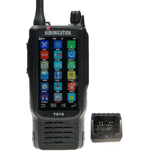 Himunication TS19 VHF touchscreen Hand Marifoon IP67 ATIS GPS DS