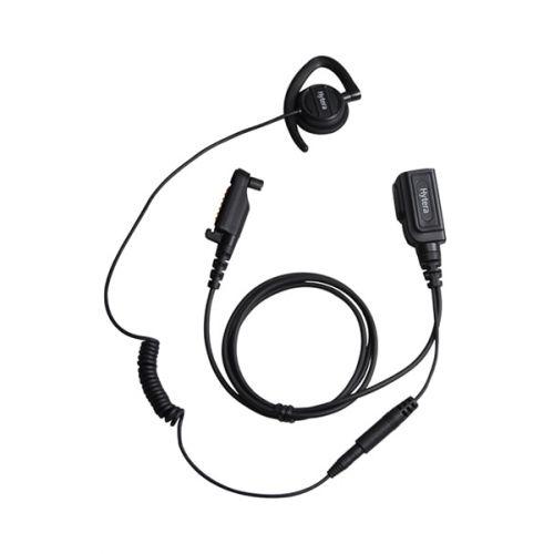 Hytera EHN20 C-Ring headset H5 Multi-pin aansluiting