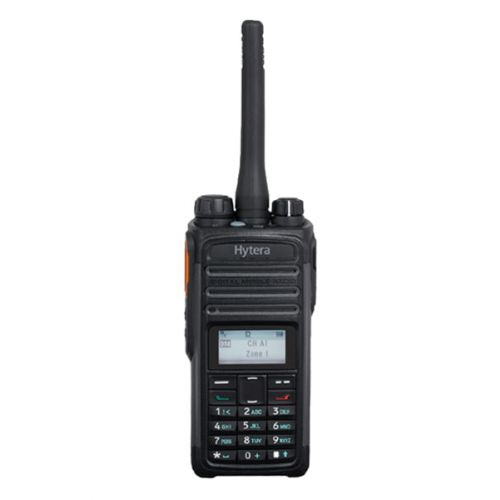 Hytera PD485 UHF DMR IP54 5Watt met Bluetooth