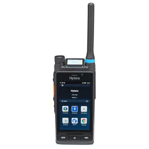 Hytera PDC760 4G LTE POC en VHF DMR Tier2 multimode portofoon en smartphone