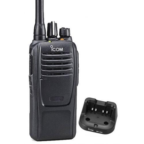 Icom IC-F2100D UHF IP67 NXDN Portofoon. Analoog en digitaal.