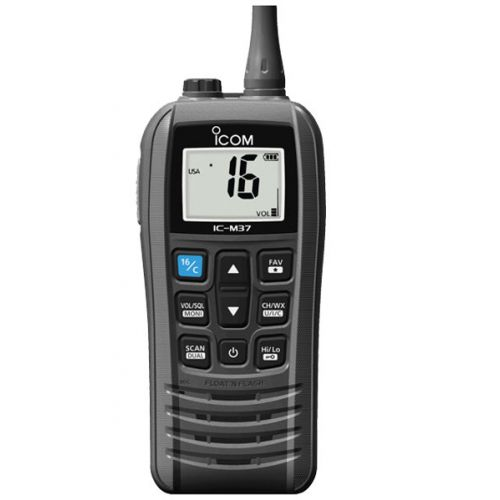 Icom IC-M37 Hand Marifoon IPX7 met ATIS