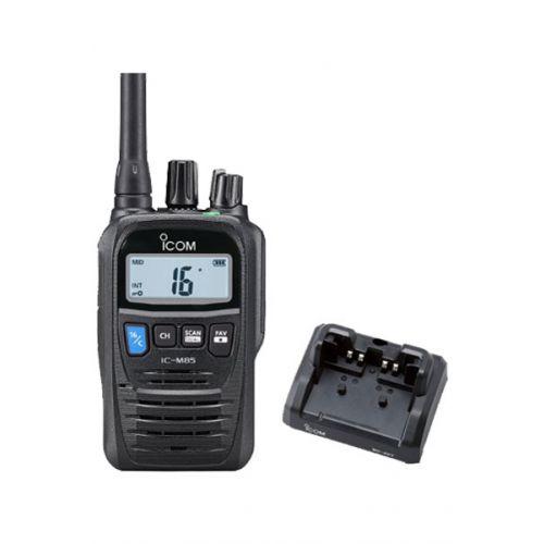 Icom IC-M85E Hand Marifoon IP67 ATIS met PMR kanalen en man down