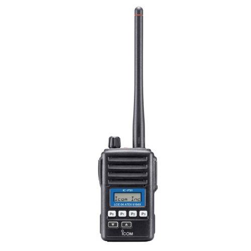 Icom IC-F61 ATEX IP67 UHF Marine on board portofoon