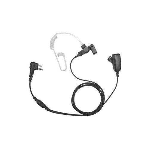 Incotech ACH2042-M5 beveiliging headset 2-Wire zwart Multi-pin M5