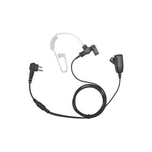Incotech ACH2042-M7 beveiliging headset 2-Wire zwart Multi-pin M7