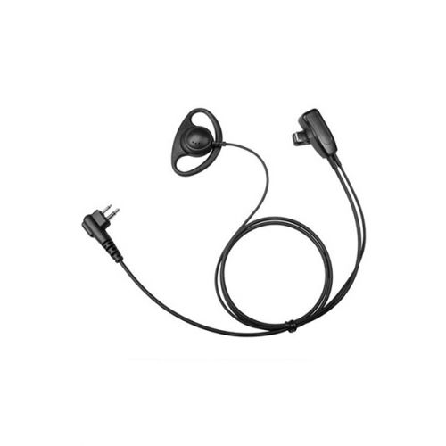 Incotech DCH1040-M5 D-shape headset 2-Wire zwart Multi-pin M5
