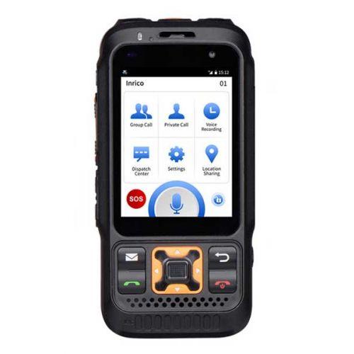 Inrico S100 4G LTE Zello POC Portofoon, GPS, Smartphone, GSM, Wifi,