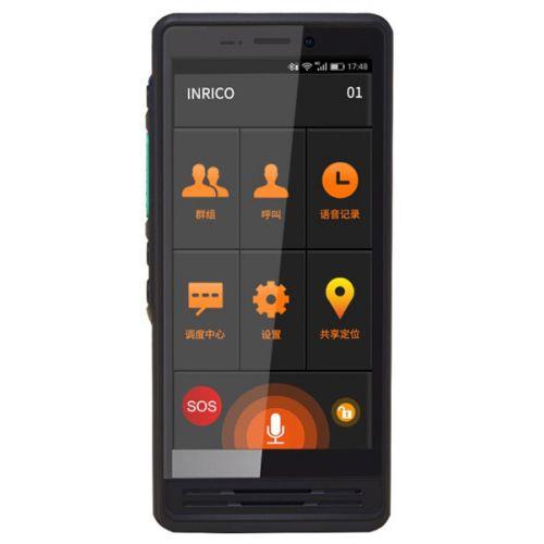 Inrico S300 4G LTE Zello POC Portofoon IP67 waterdicht, GPS, Smartphone, GSM, Wifi, NFC