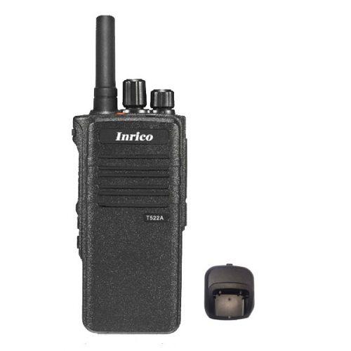 Inrico T522A IP66 4G LTE POC Zello Portofoon K1 2-Pins met Gps, Wifi en Bluetooth