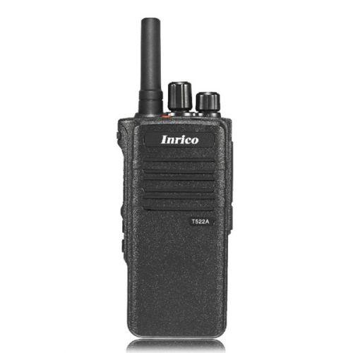 Inrico T522A IP66 4G LTE POC Zello Portofoon K-Type met Gps, Wifi en Bluetooth
