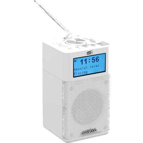 Kenwood CR-M10DAB-B Portable witte compacte DAB radio