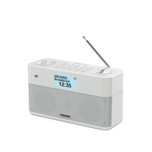 Kenwood CR-ST50DAB-B Portable witte DAB+ Bluetooth radio