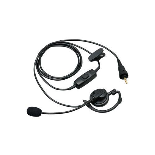 Kenwood KHS-37W oorhaak headset met boom mic voor TK-3601D en WD-K10