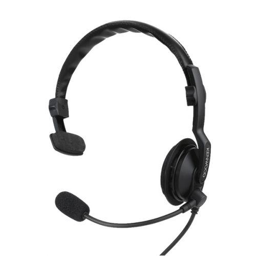 Kenwood KHS-7A hoofdband headset met microfoon en PTT K-Type 2-Pins