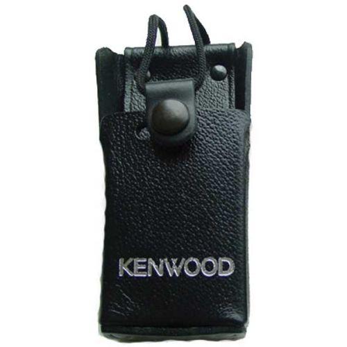Kenwood KLH-131 leren draagtas met broekriem clip voor Kenwood TK serie
