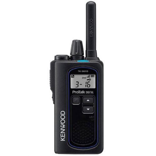 Kenwood TK-3601D IP67 Digitale mini portofoon met tafel lader
